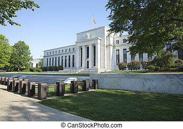 de bouw van de federale reserve, in, washington, dc
