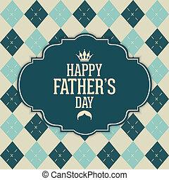 de dag van de vader, vrolijke