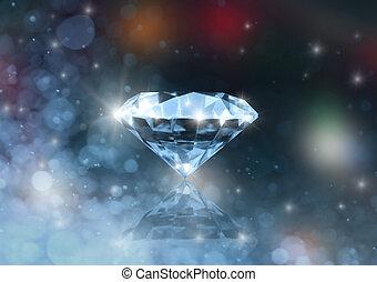 de, diamant