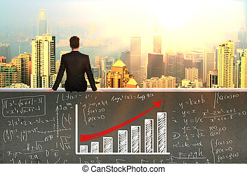 de financiële groei