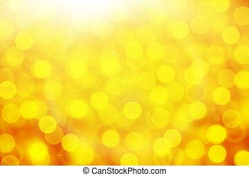de-focused yellow backround