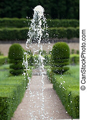 de, frankreich, villandry, chateau, tal, gärten, loire
