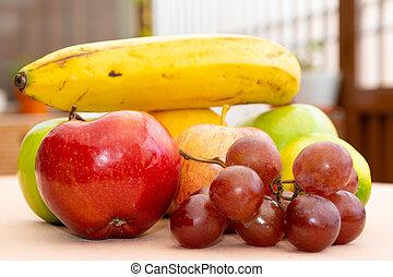 de, frutas, cerca