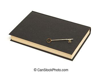 de, geheim, boek