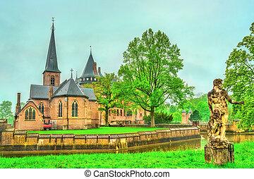 De Haar Castle near Utrecht, Netherlands - De Haar Castle...
