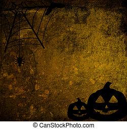 de, halloween, abstract, achtergrond