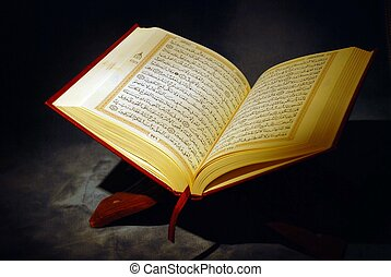 de, heilig, quran