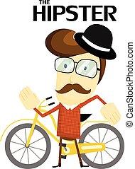 de, hipster
