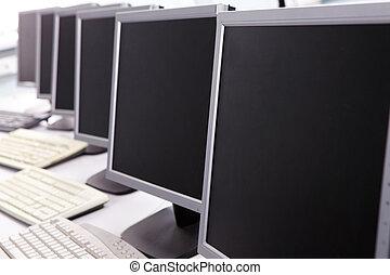 de klasse van de computer