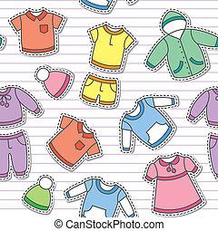 de kleren van kinderen