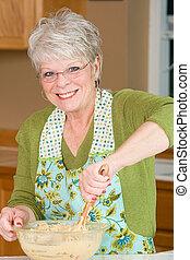 de koekjes van het baksel grandma