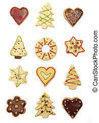 de koekjes van kerstmis