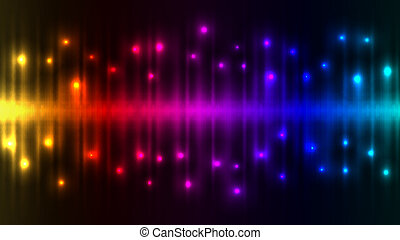 de lichten van de kleur, abstract, achtergrond.