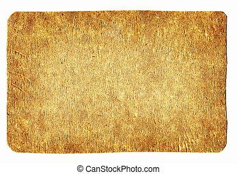 de madera, índice, placa