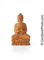 de madera,  Buddha