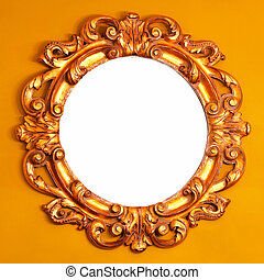 de madera, espejo