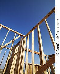 de madera, framework.
