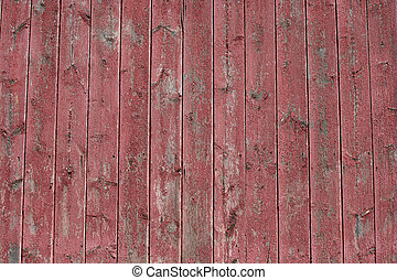 de madera, imagen, fondo rojo, granero