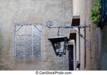 de madera, jadida, ventana, calles, el