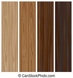 de madera, material