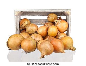 de madera, onios, cajón