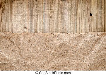 de madera, papel, viejo, plano de fondo