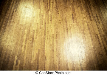 de madera, pista de baile