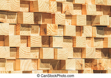 de madera, primer plano, soundproofing