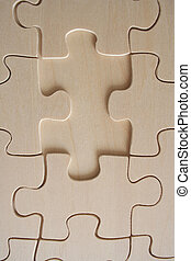 de madera, rompecabezas, 2
