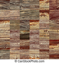 de madera, rompecabezas, patrón, como, resumen, fondo.