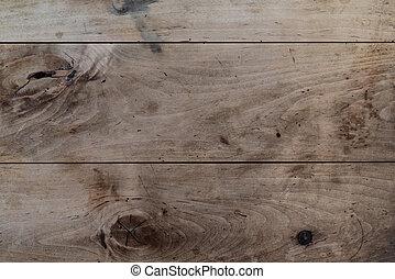 de madera, sobre, directamente, rústico, plano de fondo, tabla, tiro