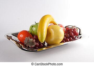 de schotel van het fruit
