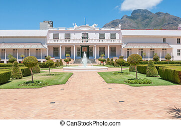 De Tuynhuys in Cape Town,
