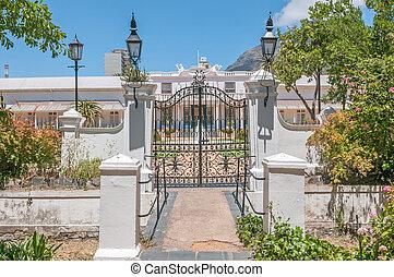 De Tuynhuys in Cape Town,