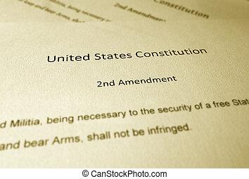 de, tweede, amendement