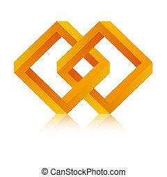 de, verbond, symbool
