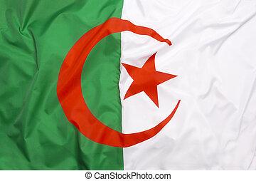 de vlag van algerije