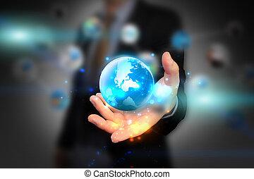 de wereld van de handholding