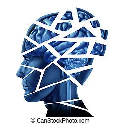 de ziekte van hersenen