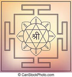 dea, lakshmi., yantra