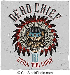 Dead Chief Poster