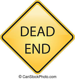dead end road symbol