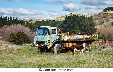 Dead Farm Truck