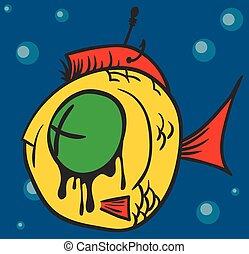 Dead Fish Graffiti
