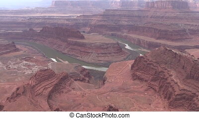 Dead horse Point State Park Utah - the landscape of the...