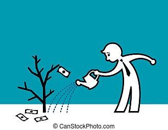 Dead money plant