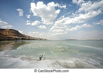 Dead Sea landscape day