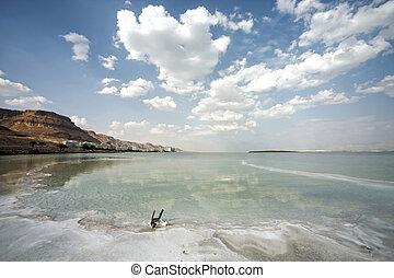 Dead Sea landscape day
