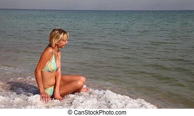 Dead Sea. Of Israel.