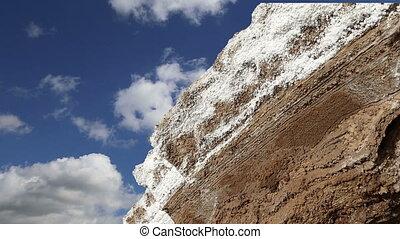 dead sea salt at Jordan,Middle East - dead sea salt at...